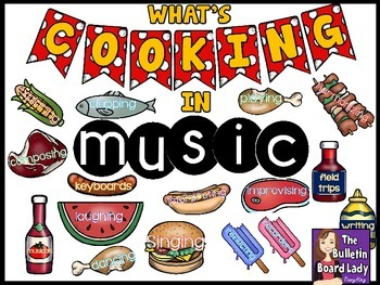 What's Cooking in Music Bulletin Board