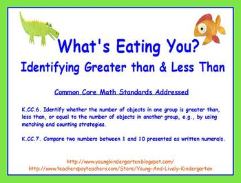 What's Eating You? Comparing Greater Than and Less Than for ActivBoard