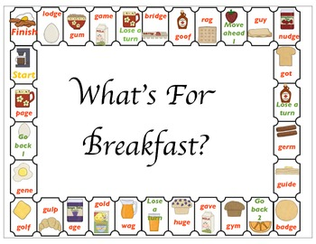 What's For Breakfast - Understanding Hard and Soft G sounds
