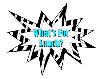 Lunch Count - Zebra