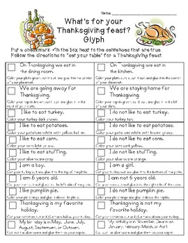 What's For Your Thanksgiving Feast? {Glyph}