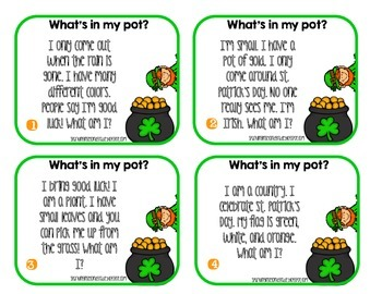 Inference FREEBIE for St. Patrick's Day