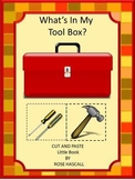 What's In My Tool Box? Little Book Kindergarten Special Education, Autism