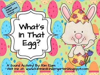 What's In That Egg? A Sound Activity Freebie