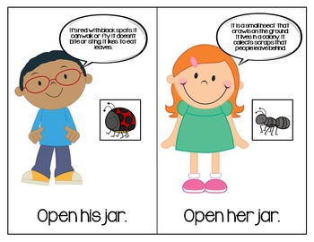 What's In The Jar? Interactive Book