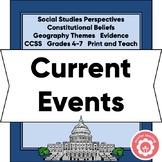 Analyzing A Current Event CCSS Grades 4-7
