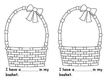What's In Your Basket, A Fill in the Blank Book
