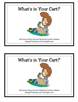What's In Your Cart? Guided Reader (-art Word Family)