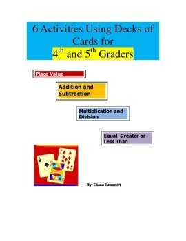 """""""What's In Your Hand?"""" 6 Activities for 4th and 5th Graders"""