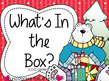 What's In the Box? {A Winter CVC Center}