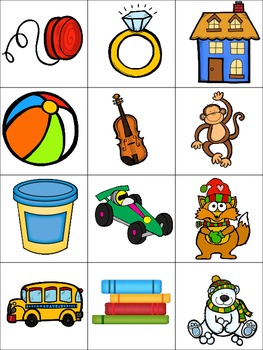 What's Insde the Box? Beginning sounds and Rhyming Freebie