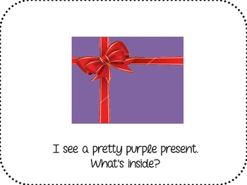 What's Inside That Present? predictable text