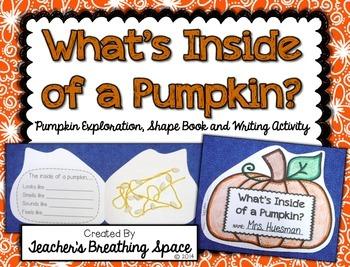What's Inside a Pumpkin? --- Pumpkin Exploration, Shape Bo