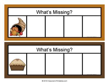 Whats Missing Letter Activity