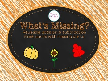 What's Missing Math Cards