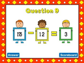 Freebie - What's Missing - PPT Game