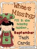 What's Missing? September