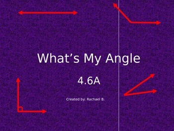 What's My Angle? 4.6A