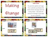 What's My Change? Activity Card Set