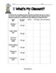 Figuring Percents - What's My Discount Worksheet