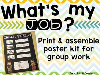 What's My Job? Poster Kit