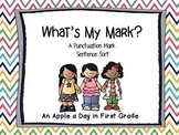 What's My Mark?  Sentence Sort