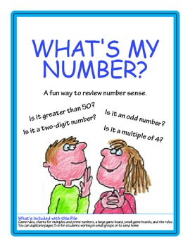 What's My Number? ★ FREEBIE ★