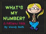 What's My Number?  A Patterns Pack {CCSS 3.OA.9}