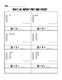 What's My Number? Place Value Worksheet