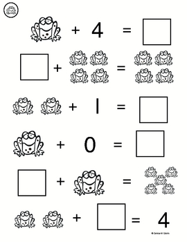 What's My Number? (beginning addition 0-5)