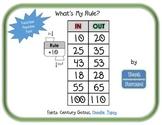 What's My Rule? Function Machine FREEBIE