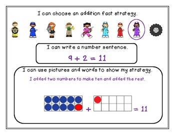 """""""What's My Strategy?"""" A Year-Long Common Core Differentiated Math Station"""