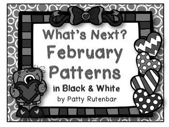 What's Next? Heart Patterns in Black and White