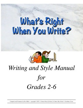 What's Right When You Write?