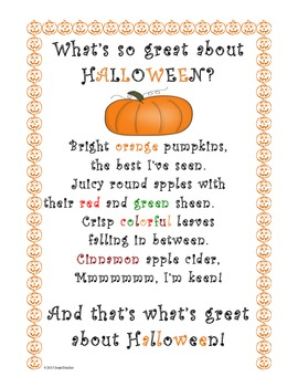 What's So Great About Halloween? (Freebie!)