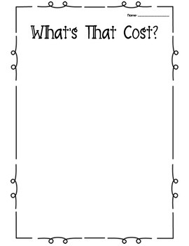 What's That Cost?