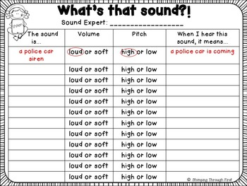 What's That Sound?! An interactive sound unit
