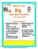 What's The Big Idea Ben Franklin? Core Aligned Close Readi