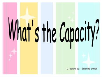 What's The Capacity?