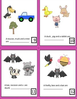 What's The Category?  Task Cards