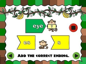 What's The Ending? - A Plural Noun PPT Game