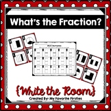 Fraction Write the Room {Identifying Fractions)