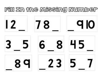 What's The Missing Number?