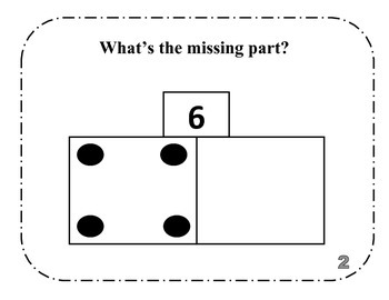 What's The Missing Part? (addition 6-10)