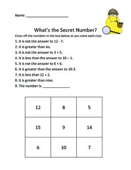 What's The Secret Number?