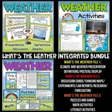 Weather Unit with Science, Math and Literacy Activities | All in One Bundle