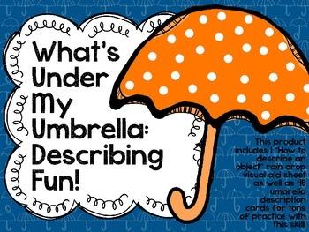 What's Under My Umbrella: Describing Fun!