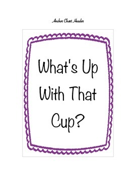 What's Up With That Cup?