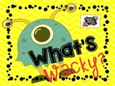 What's Wacky? Auditory Comprehension and Reasoning