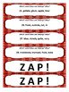 What's Wrong ZAP! Vocabulary and Main Idea Development